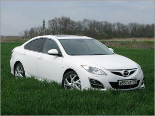 Российские автоновости Обновленная Mazda 6