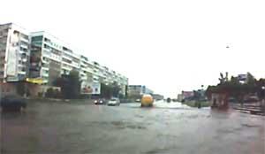 Наводнение в Новополоцке