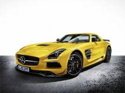 Новая модификация суперкара SLS AMG от Mercedes