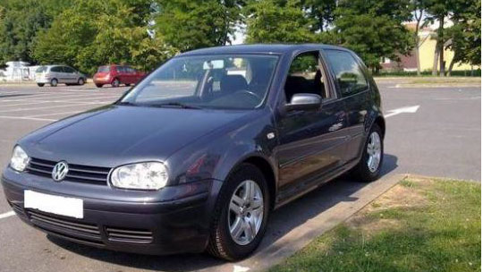 VW Golf IV, 1997 год, 1,6 моно, 5МКПП