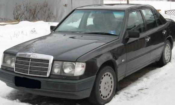 Мерседесе E в кузове W124