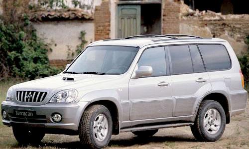 Hyundai Terracan 2,5d 2003 г